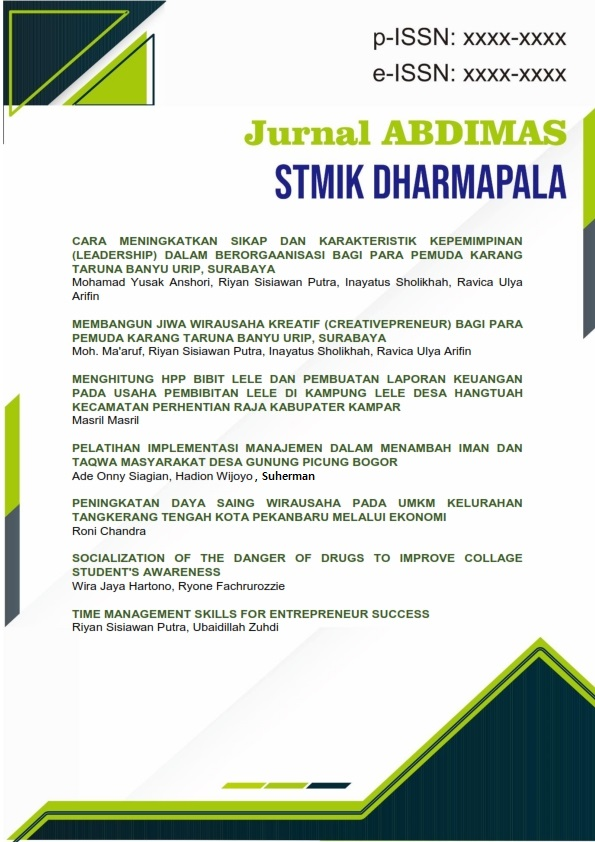 View Vol. 1 No. 1 (2021): Jurnal Abdimas STMIK DPR